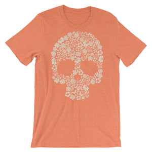 Flower Skull Bouquet Men's Short Sleeve T-Shirt - The Jack of All Trends