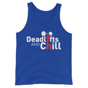 Deadlifts & Chill Men's Tank Top - The Jack of All Trends