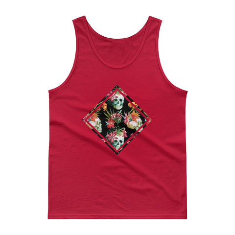 Skull Meeting Men's Tank Top - The Jack of All Trends