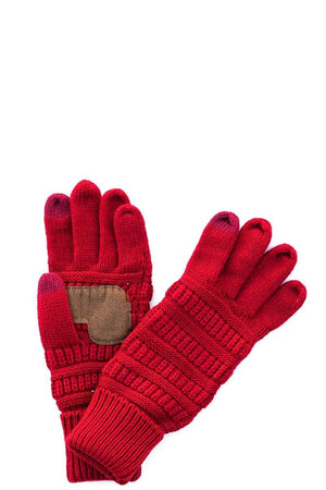 CC Knit Touch Screen Gloves