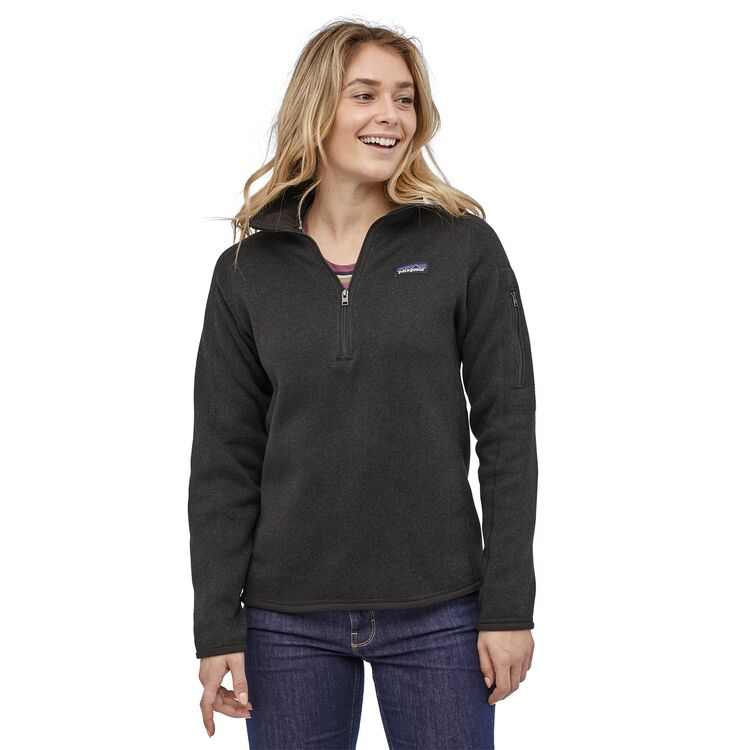 Patagonia Better Sweater 1/4 Zip Black (XS)