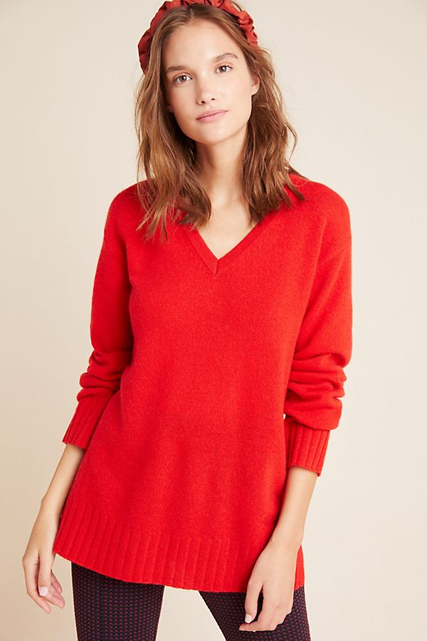 NEW Anthropologie Cashmere Tunic (M/L)