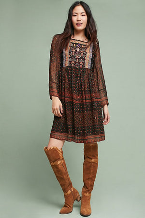 Anthropologie 'Munro' Beaded Slip Dress (S)