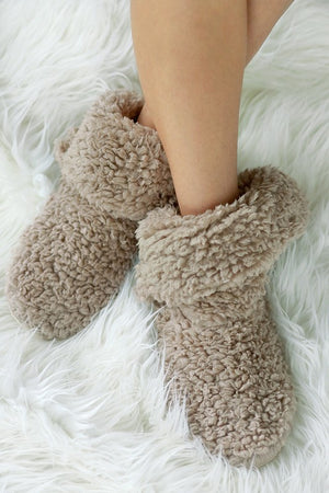 Sherpa House Slippers