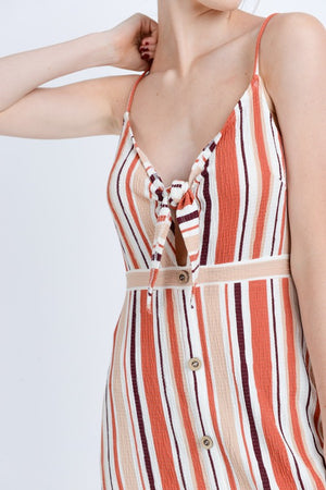 Shades of Summer Stripe Dress