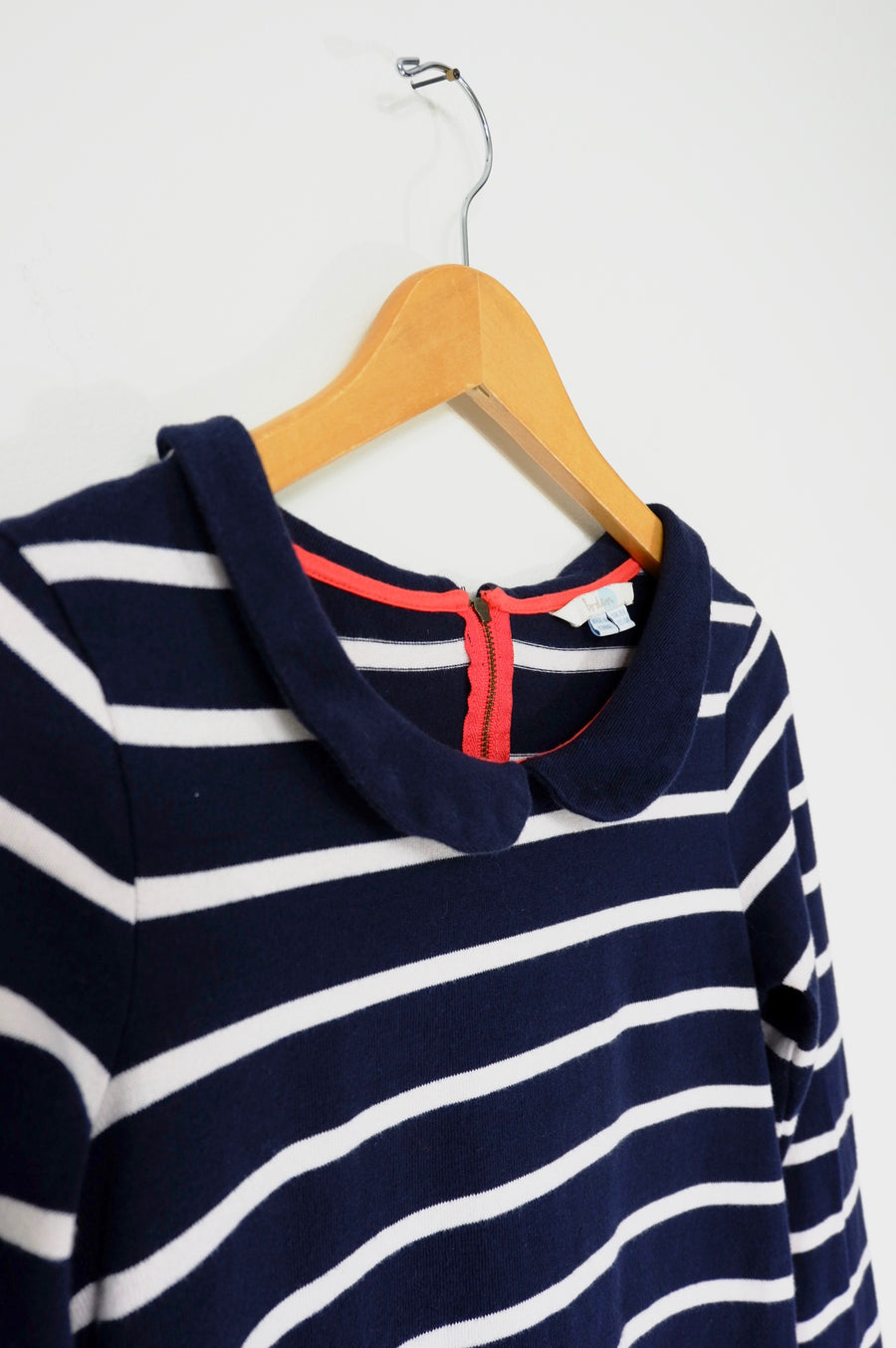 Boden Peter Pan Collar Knit Tunic Dress (4)
