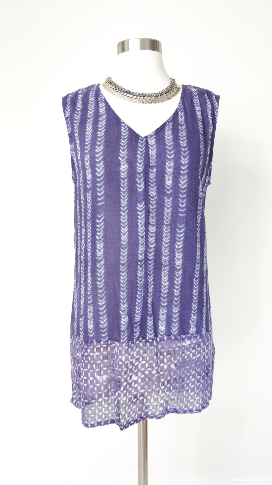 Anthropologie Dolan Indigo Top (S)