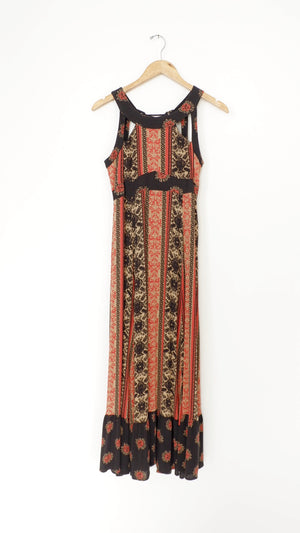 Free People Lace Up Maxi Dress (2)