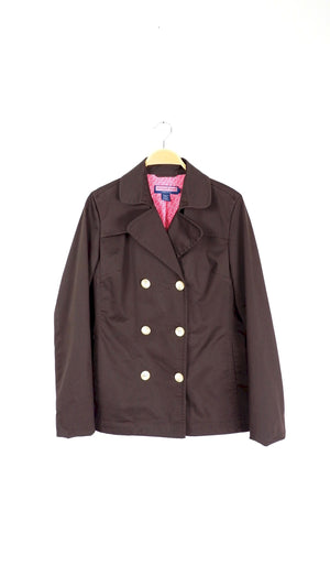 Vineyard Vines Brown Trench Jacket (L)