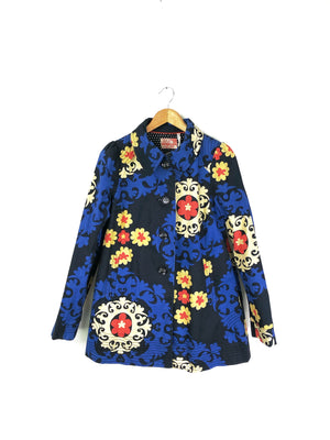 Anthropologie Bica Cheia Radicchio Medallion Coat (10)
