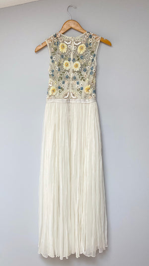 BHLDN Paulette Embroidered Gown (4/Small)