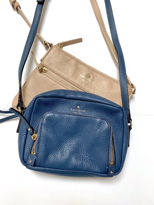 Kate Spade Tan Crossbody Satchel Purse