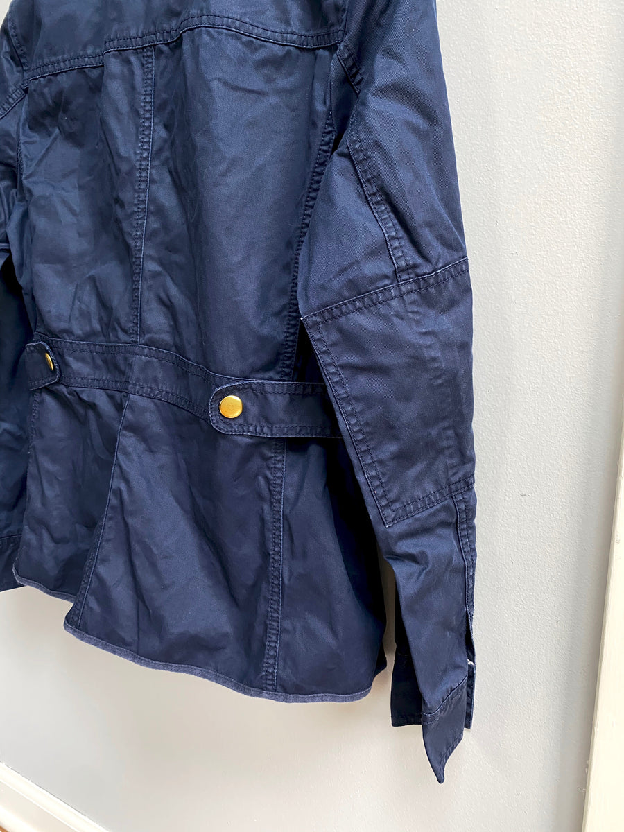 J.CREW Downtown Field Jacket in Navy (S)