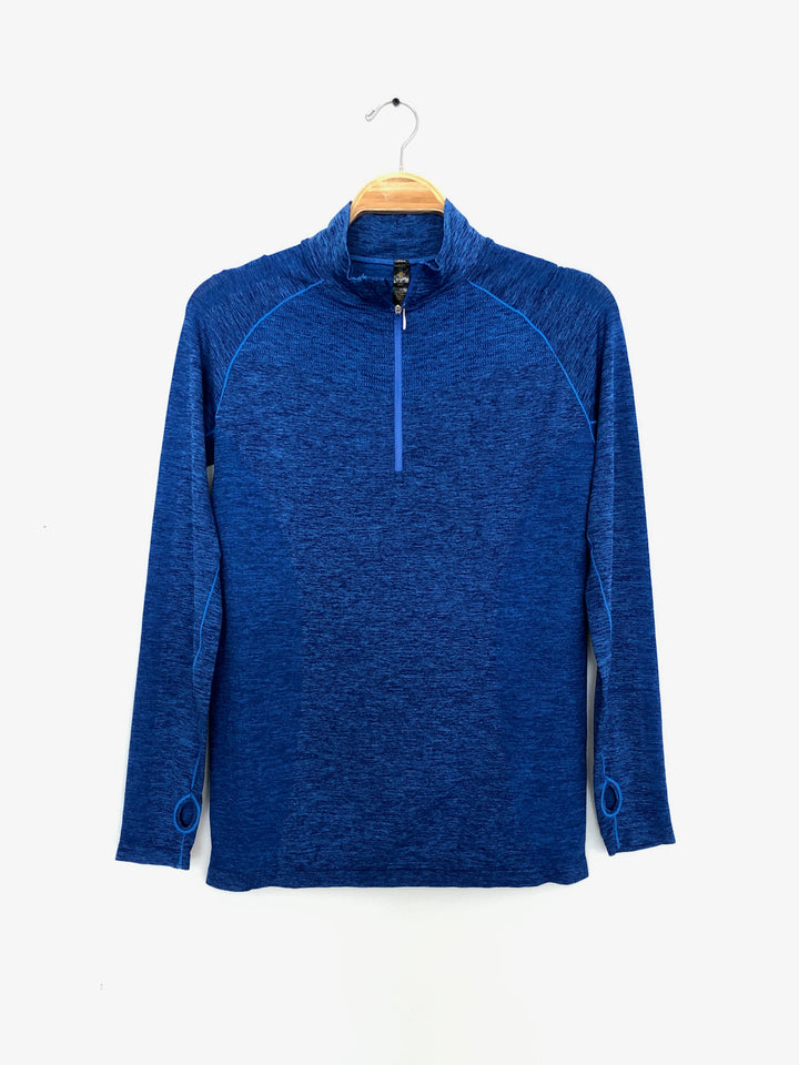 Royal Blue Athletic Runners Pullover