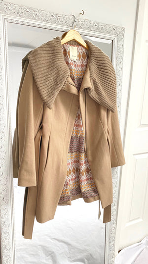 Anthropologie 'Judith' Wool Belted Coat (4)