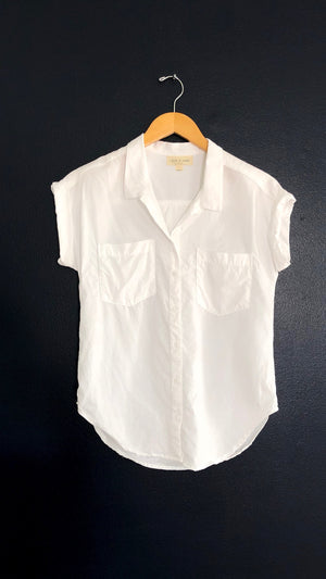 Anthropologie Celestine White Button Down (XS)