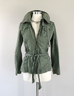 H&M Army Green Cargo Jacket (8)
