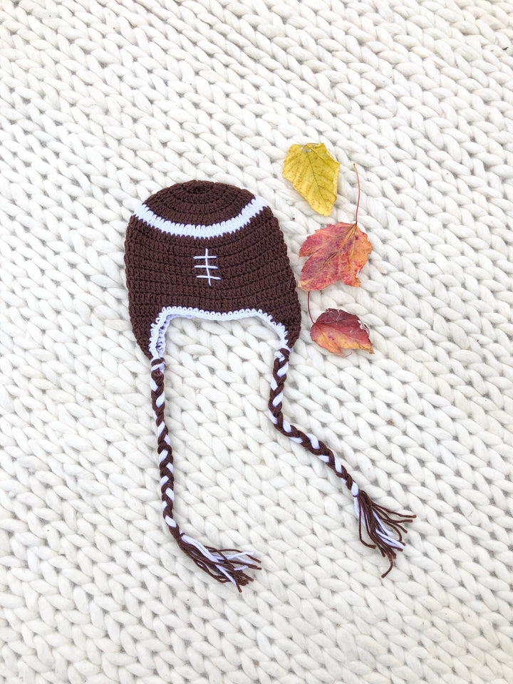 KIDS Little Footballer Crochet Hat