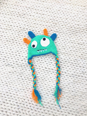 KIDS Silly Monster Hat