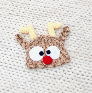 KIDS Rudolph Knit Hat
