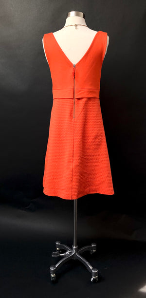 Anthropologie 'Ardmore' Red Orange Dress (10)