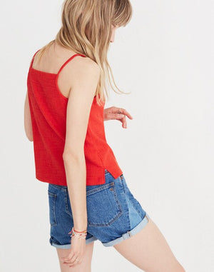 Madewell Texture & Thread Apron Tank Top (M)