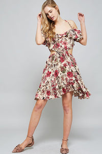 Garden Party Cut Out Dress