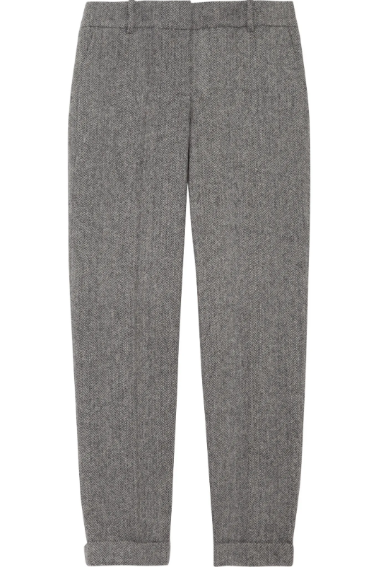 J.Crew Herringbone Cafe Capri Wool Pants (4)