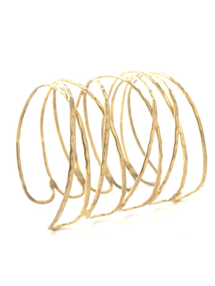 Mata Traders Wind & Water Cuff Bracelet (3 metals)
