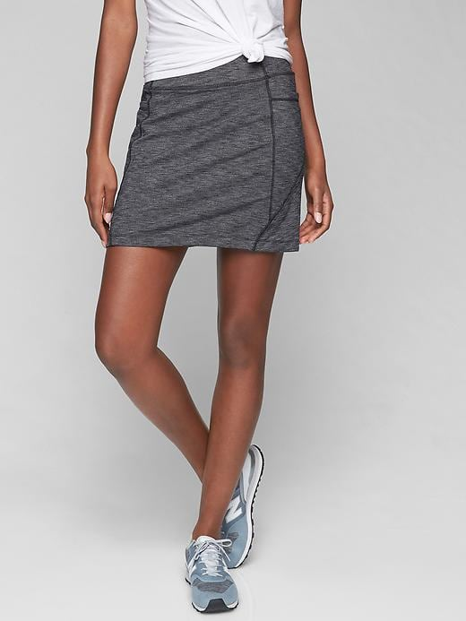 Athleta Gray Excursion Skort (S)