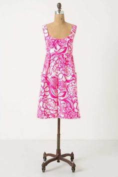 Anthropologie Garden Party Pink Dress (4)