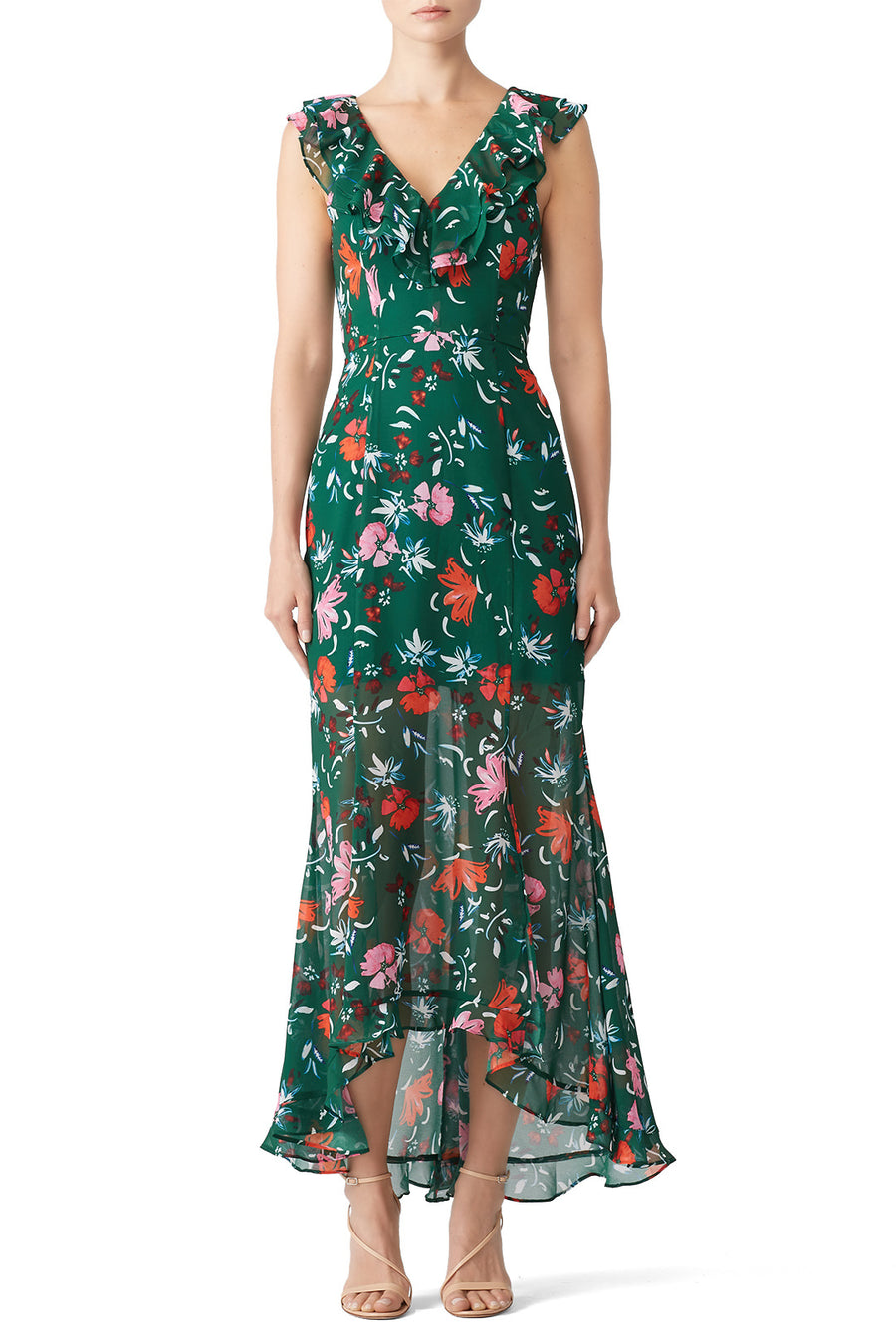 C/MEO Collective Elude Floral Dress (S)