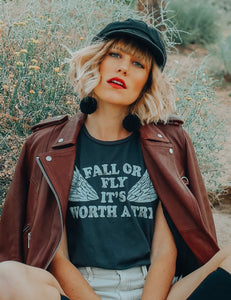Fall or Fly Tee