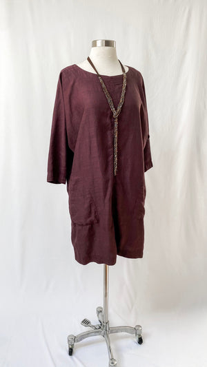 Wilfred Eggplant Purple Casual Dress (S)