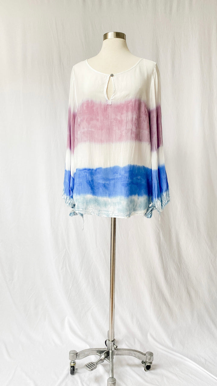 Anthropologie Summer Dip Dyed Top (L)
