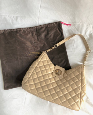 Kate Spade Quilted Gold Coast Janica Shoulder Tote
