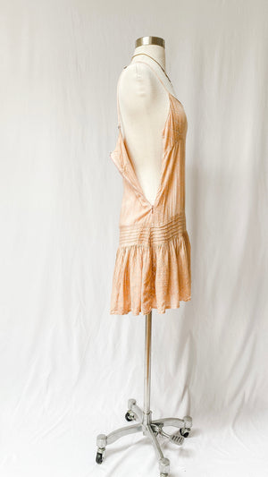 Indah Revolve Juniper Sun Dress in Bronze Casablanca (S)