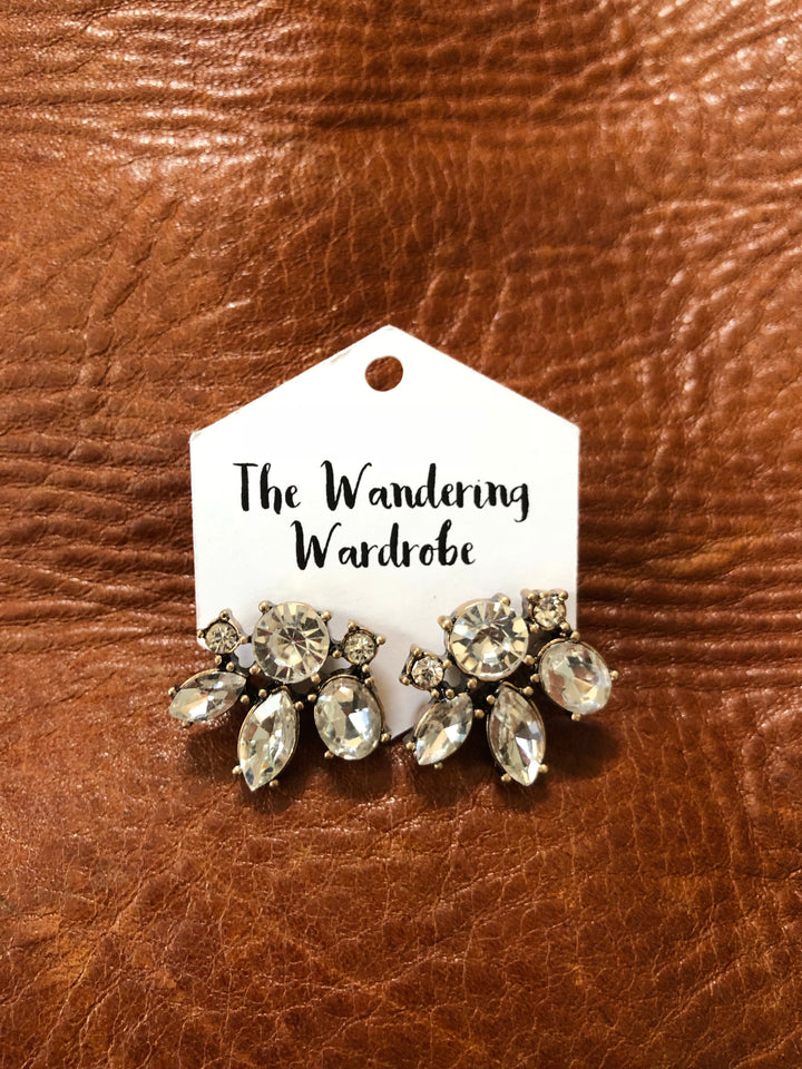 'Sienna' Crystal Stud Earrings