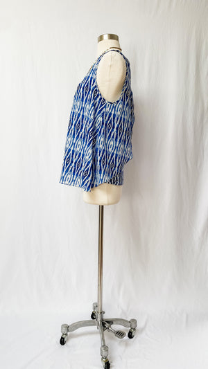 Anthropologie Ikat Layered Top (M)