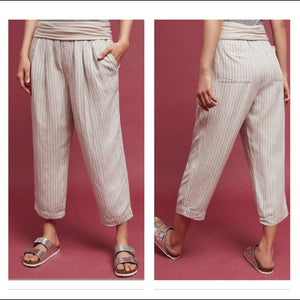 Anthropologie Eventide Linen Pants (M)