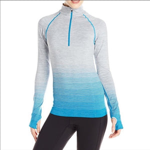 (NEW) Yummie by Heather Thomson Gray + Blue Athletic Pullover (L/XL)