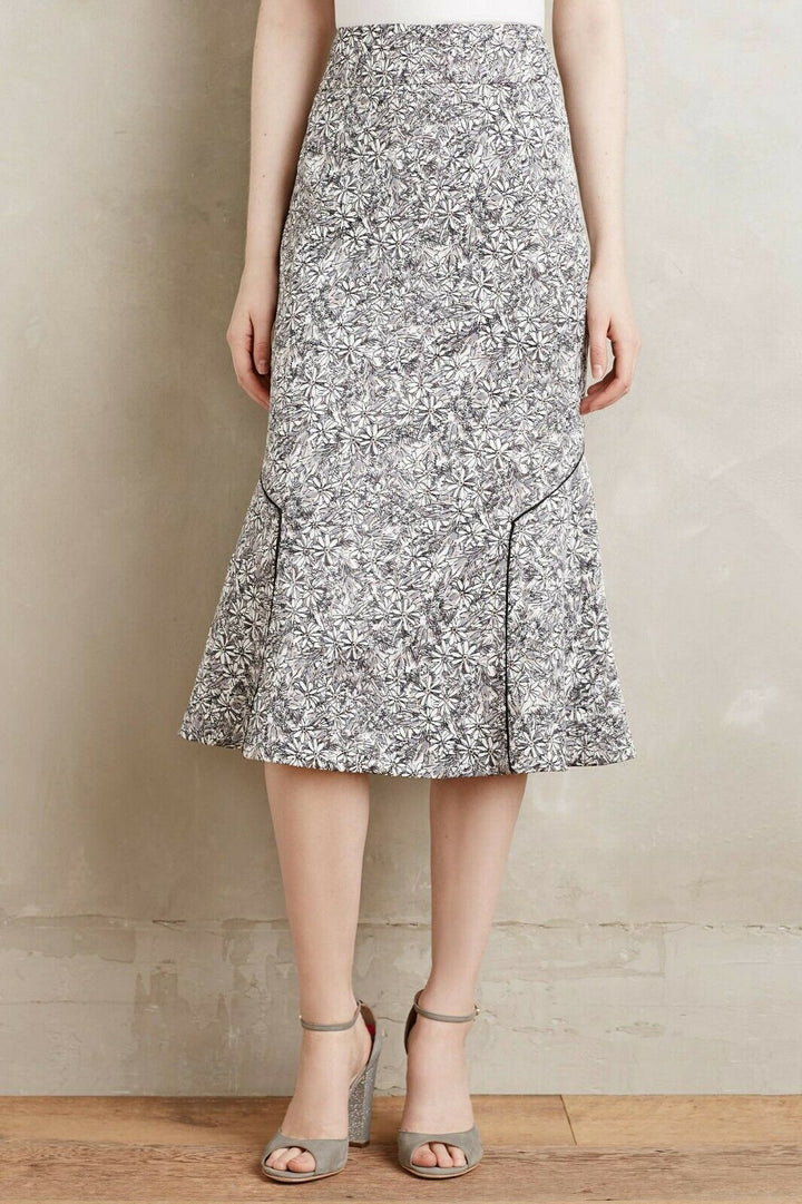Anthropologie Daisy Fit and Flare Skirt (6)