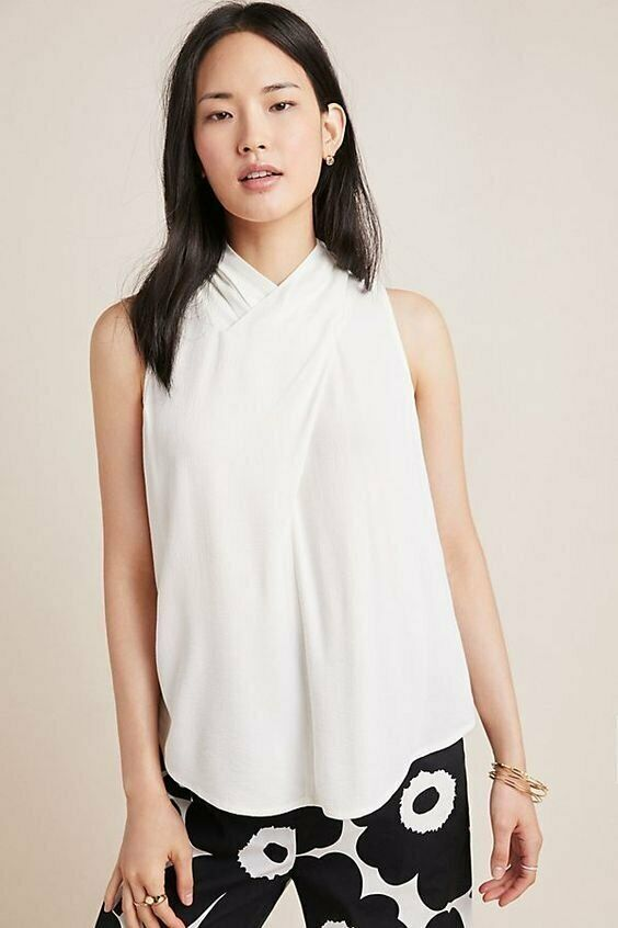 Anthropologie Maeve Adair Back Button Top (6)