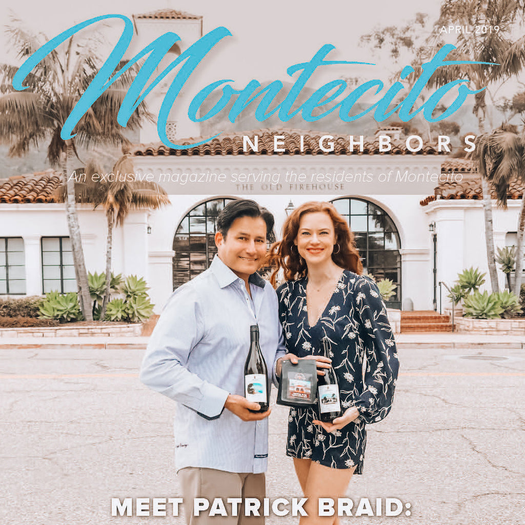 Montecito Neighbors Magazine Cover Article featuring founder Patrick Braid