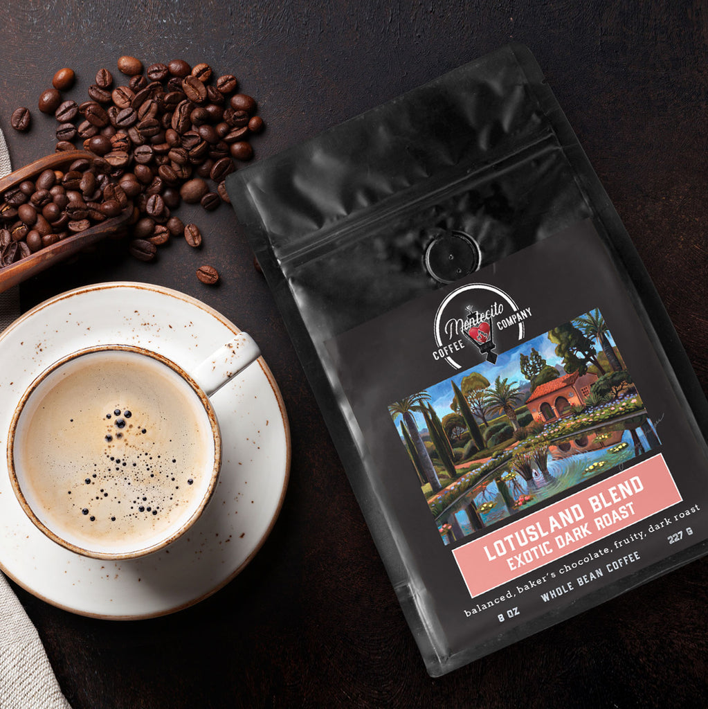 Montecito Coffee Company Announces Collaboration with Lotusland, Coffee Blend Inspired by One of the World's Most Beautiful Gardens
