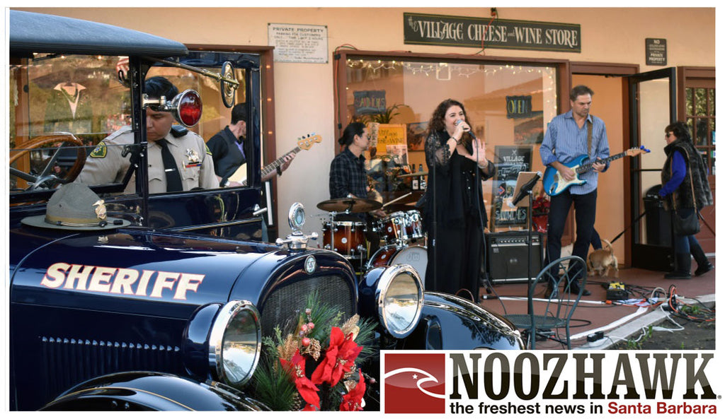Montecito's Upper Village Makes the 'Holiday Magic' Happen at Shop Local Celebration