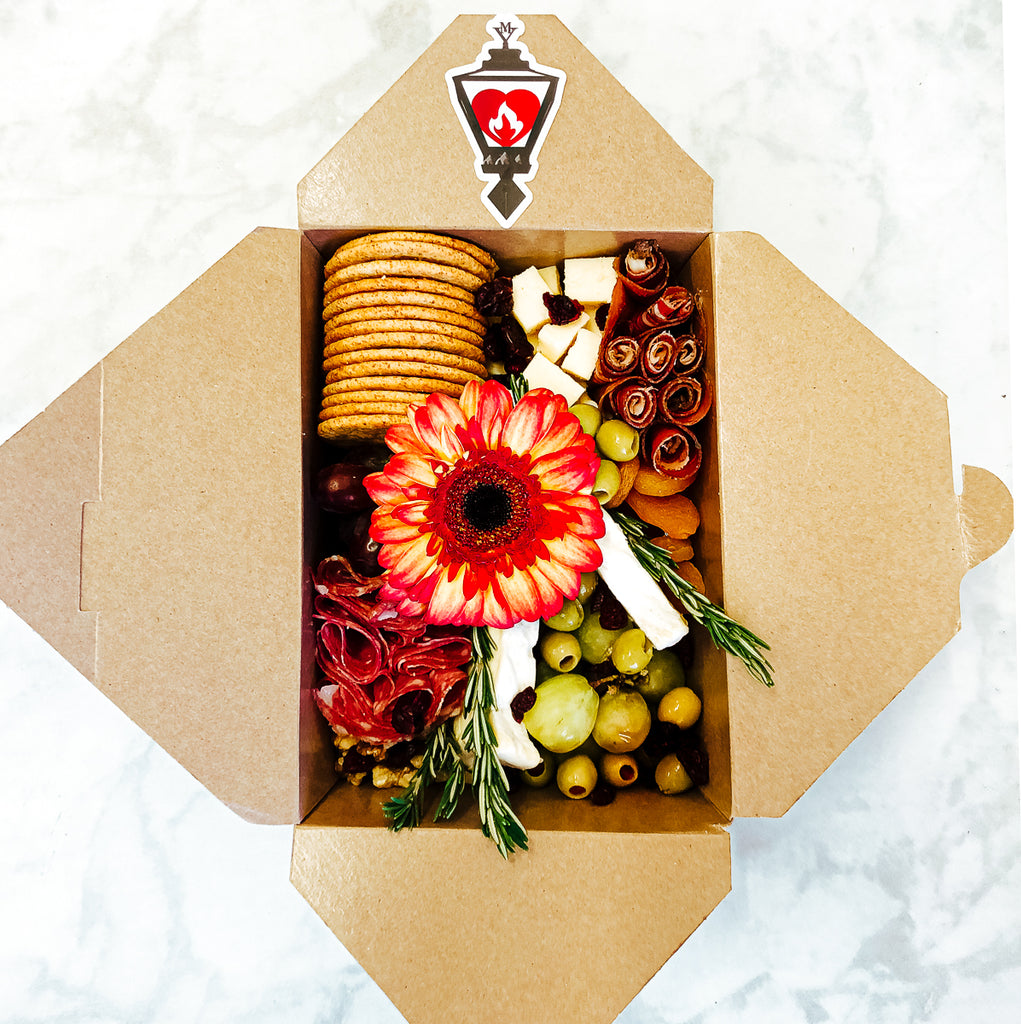 Mini Charcuterie Grazing Box