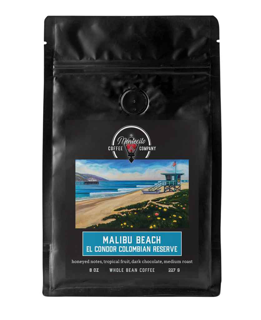 MALIBU BEACH El Condor Colombian Reserve Estate Coffee