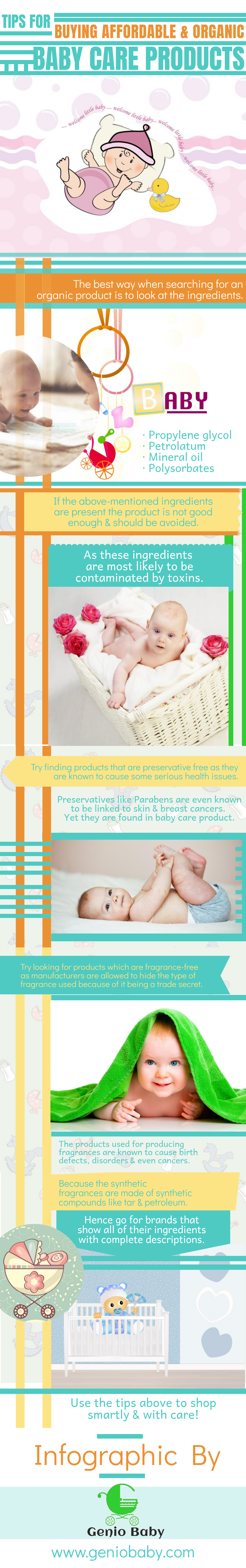 Tips for Buying Affordable & Organic Baby Products