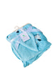 Sherpa Fleece Baby Blanket Unisex 30 x 40 Soft, Perfect For Swaddling